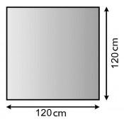 OFEN-UNTERLAGSBLECH 120 x 120 CM
