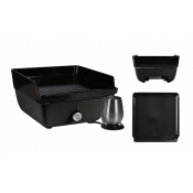 Ferleon - Patio Cooker - Plancha / schwarz